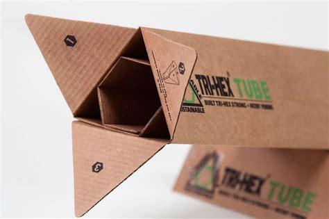 Diy-Triangular-Shipping-Box-Out-Of-Cardboard-Diy