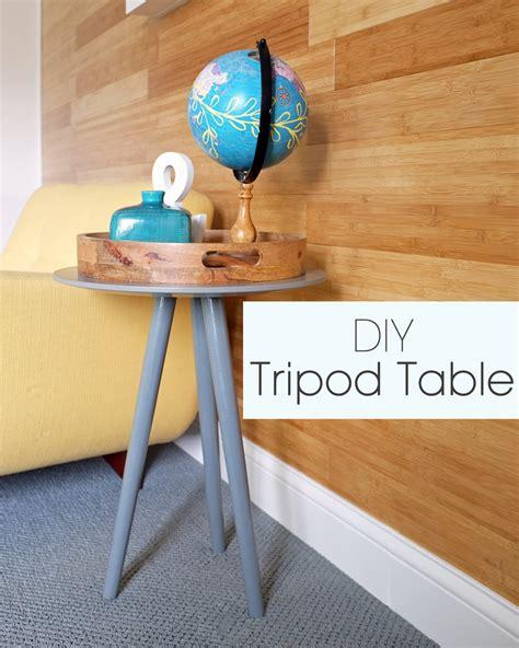 Diy-Tripod-Table
