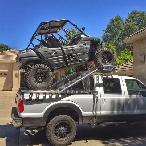 Diy-Truck-Bed-Atv-Rack