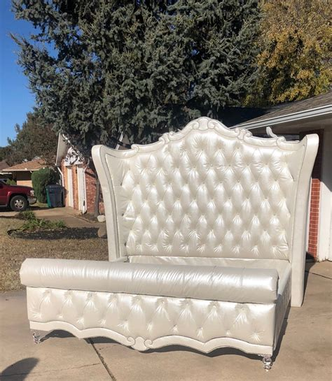 Diy-Tufted-Headboard-And-Bed-Frame