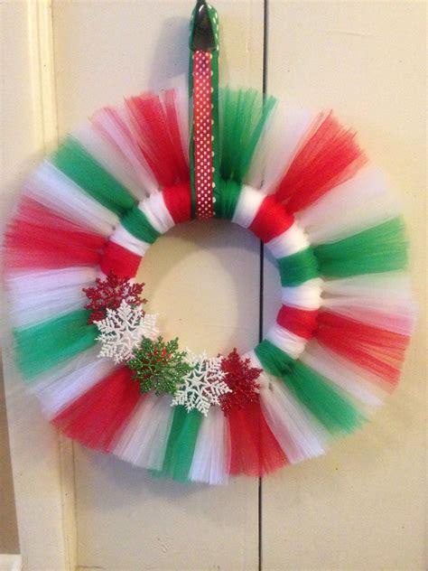 Diy-Tulle-Christmas-Wreath