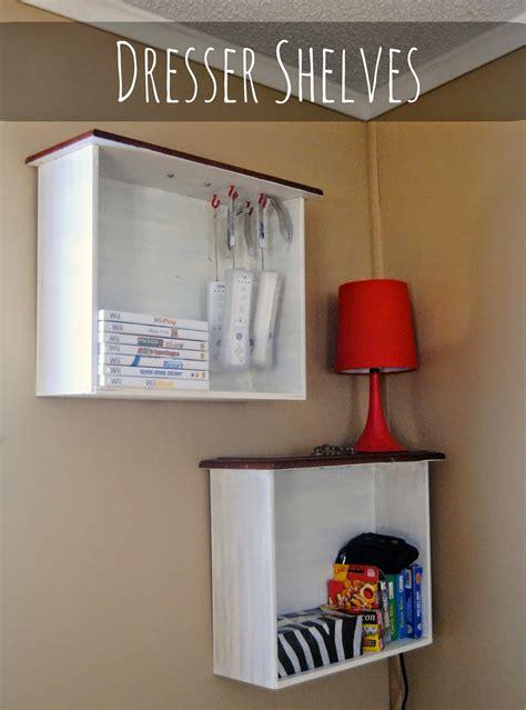 Diy-Turning-A-Dresser-Drawer-Into-A-Shelf