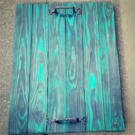 Diy-Turquoise-Wood-Stain