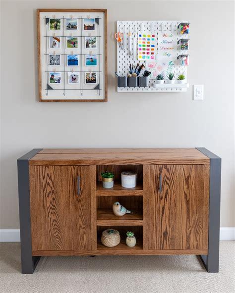Diy-Tv-Stand-Hidden-Storage