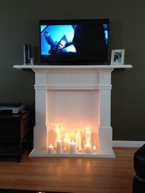 Diy-Tv-Stand-With-Fireplace