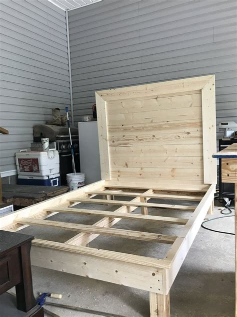 Diy-Twin-Bed-Frame-With-Headboard