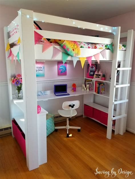 Diy-Twin-Loft-Bed-With-Desk