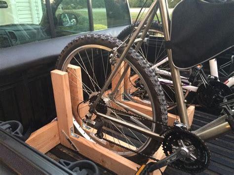 Diy-Two-Bike-Rack-Truck