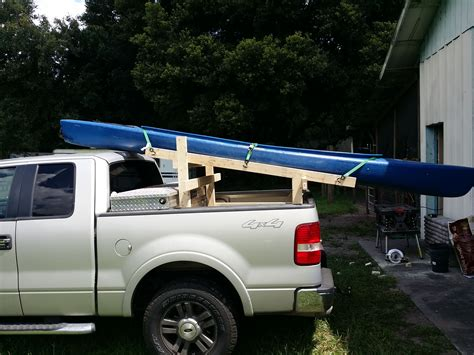 Diy-Two-Kayak-Truck-Rack