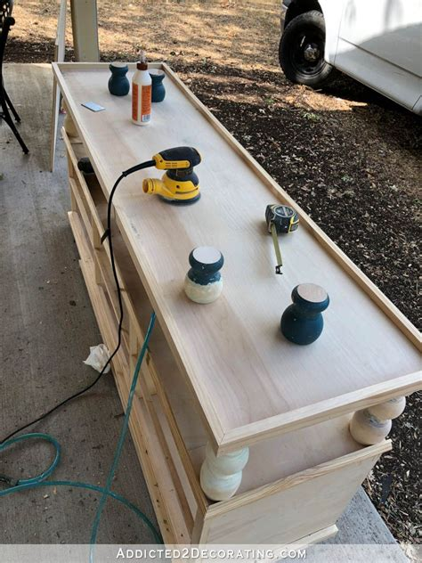 Diy-Two-Shelf-Console-Table