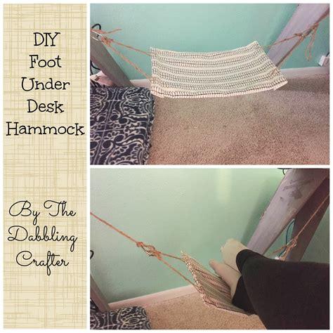 Diy-Under-Desk-Foot-Hammock
