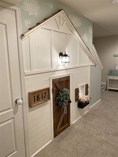 Diy-Under-Stair-Playhouse
