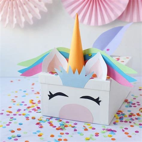 Diy-Unicorn-Card-Box-Instructions
