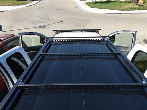 Diy-Unistrut-Roof-Rack