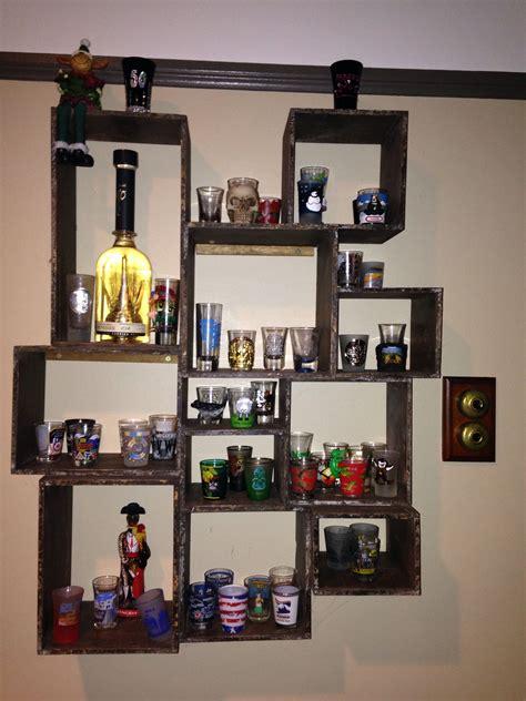 Diy-Uses-For-Shot-Glass-Display-Shelf