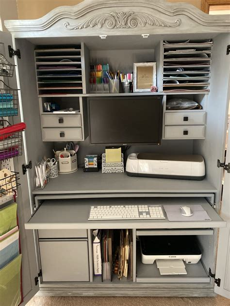 Diy-Using-A-Cabinet-For-Craft-Organizer