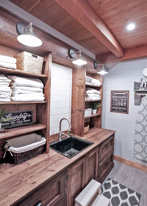 Diy-Utility-Sink-Stand-Plans-Using-Prefab-Cabinet