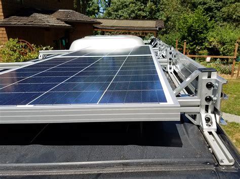 Diy-Van-Rack-For-Solar-Panels