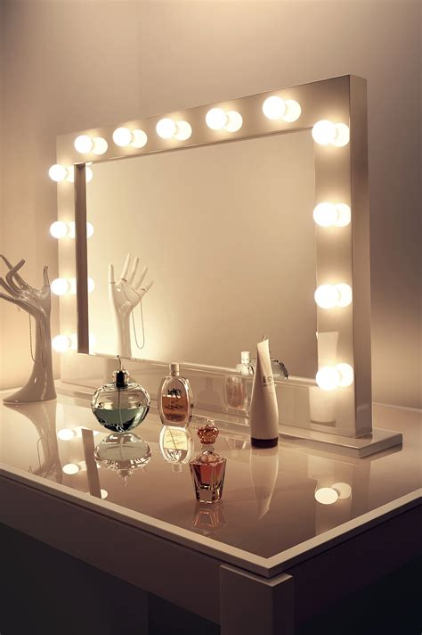 Diy-Vanity-Mirror-With-Ikea-Lights