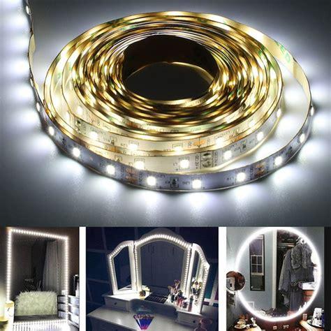 Diy-Vanity-Mirror-With-Led-Strip-Lights