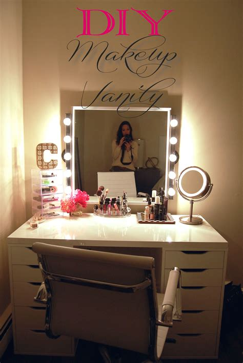 Diy-Vanity-Set-With-Lights