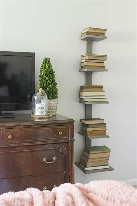 Diy-Vertical-Spine-Bookshelf