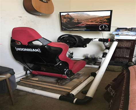 Diy-Video-Game-Racing-Chair
