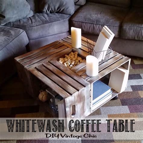 Diy-Vintage-Chic-Wine-Crate-Coffee-Table