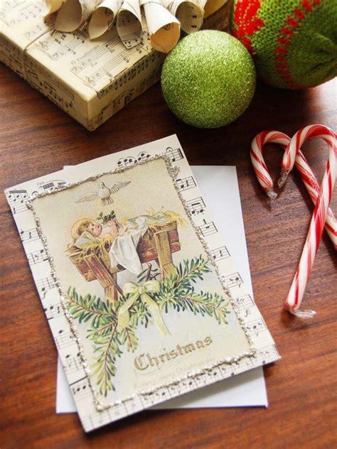 Diy-Vintage-Christmas-Cards