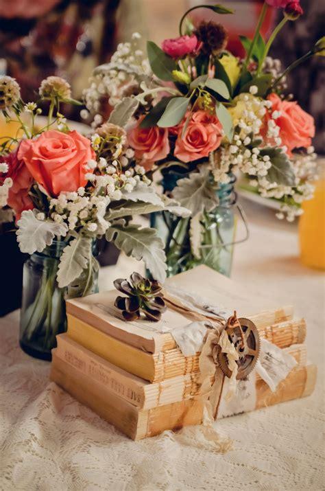 Diy-Vintage-Wedding-Table-Centerpieces
