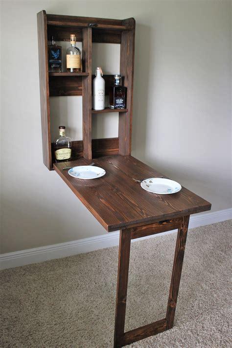 Diy-Wall-Bar-Table