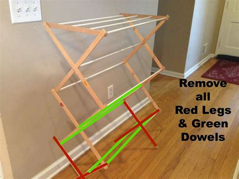 Diy-Wall-Clothes-Drying-Rack