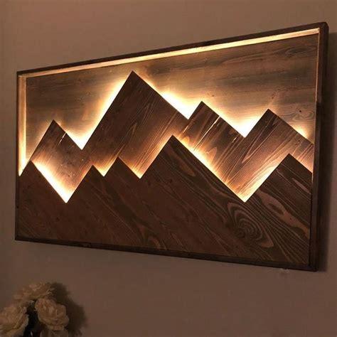 Diy-Wall-Decor-With-Lights