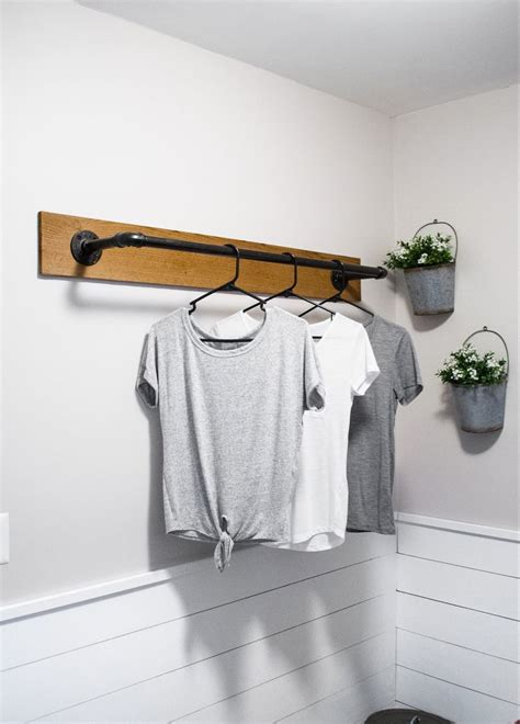 Diy-Wall-Laundry-Rack