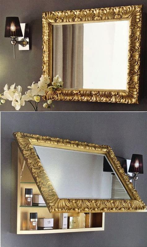 Diy-Wall-Mirror-Table