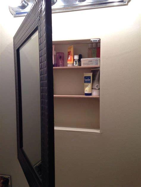 Diy-Wall-Mount-Medicine-Cabinet-With-Mirror