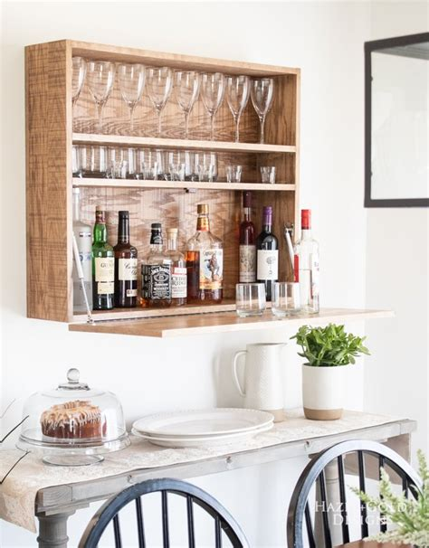 Diy-Wall-Mounted-Bar