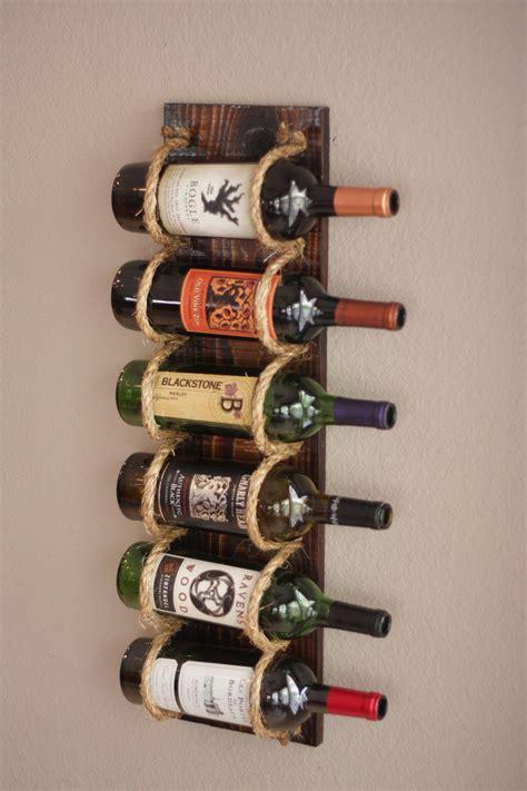 Diy-Wall-Mounted-Wine-Rack