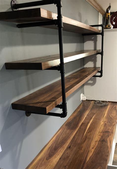 Diy-Walnut-Floating-Shelves