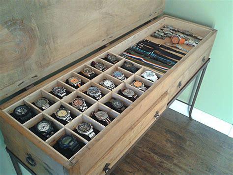Diy-Watch-Organizer-Box