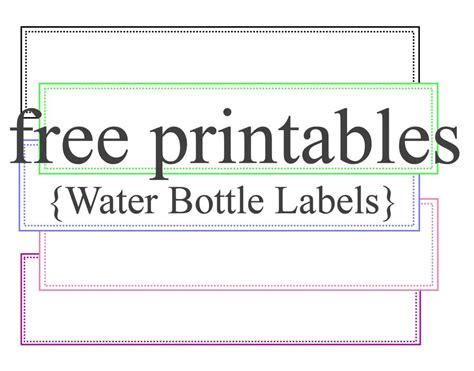 Diy-Water-Bottle-Label-Template