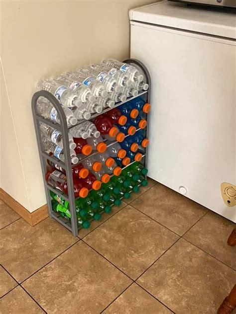 Diy-Water-Bottle-Storage-Rack