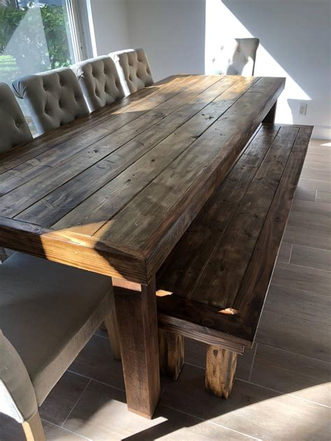 Diy-Weathered-Wood-Table