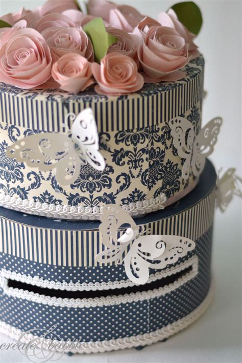 Diy-Wedding-Cake-Card-Box
