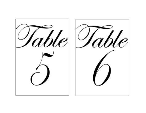 Diy-Wedding-Table-Numbers-Printable