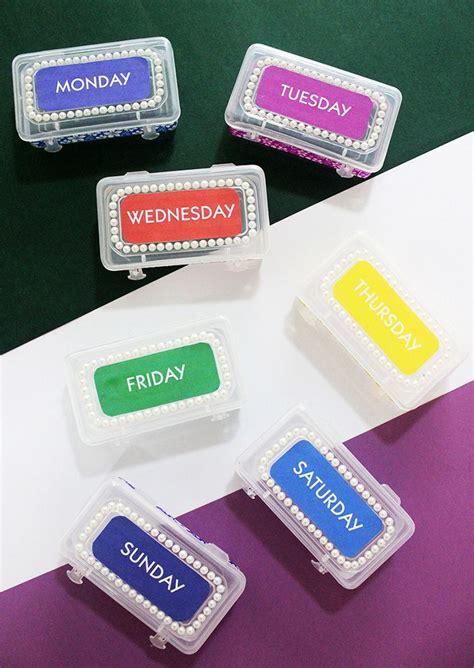Diy-Weekly-Pill-Box