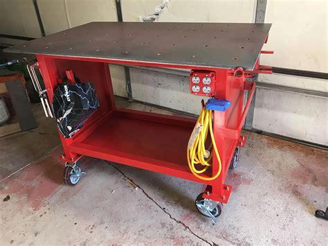 Diy-Welding-Table-Cart