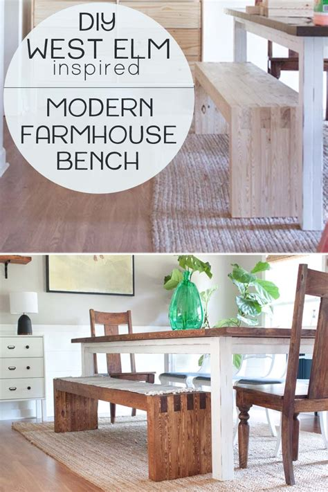 Diy-West-Elm-Bench