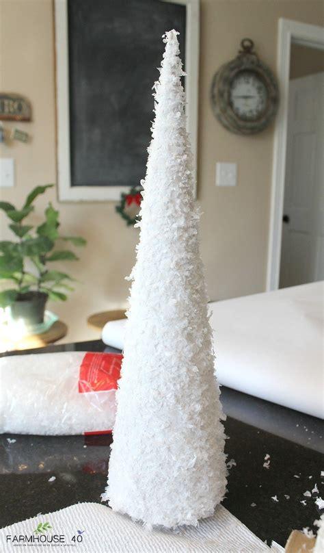 Diy-White-Christmas-Tree