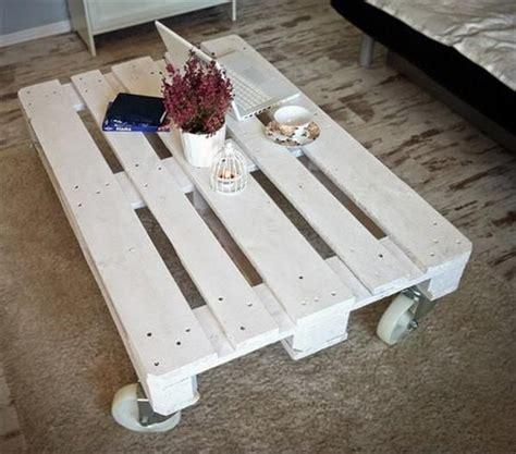 Diy-White-Pallet-Coffee-Table